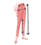 Women's Trousers Measurement Guide